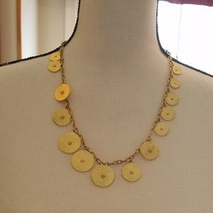 Ben Amun 24k gold plated coin necklace